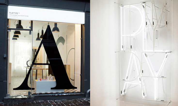 Playtype concept store opens