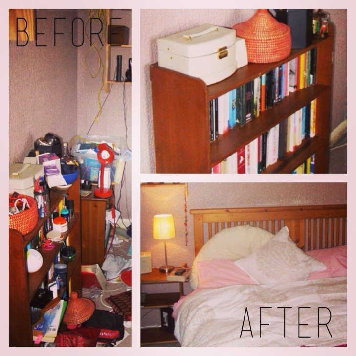 before after apartmentdiet client