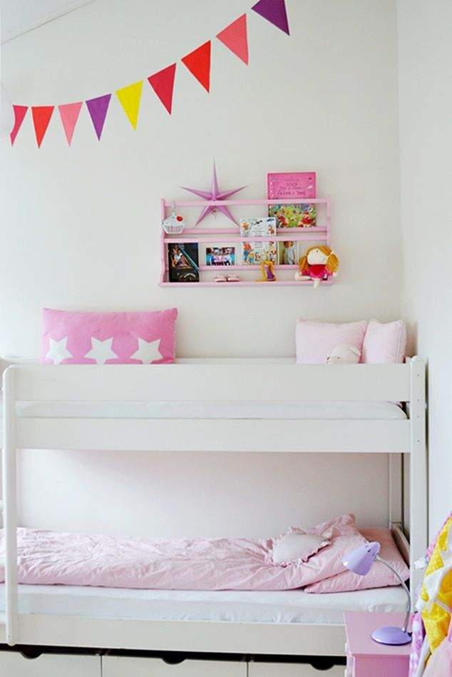 Kidsroom bunk beds girls by kronprinsessene