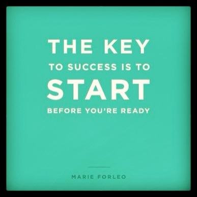 start before youre ready marie foleo