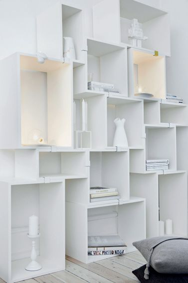 alll white muuto stacked shelving apartmentdiet