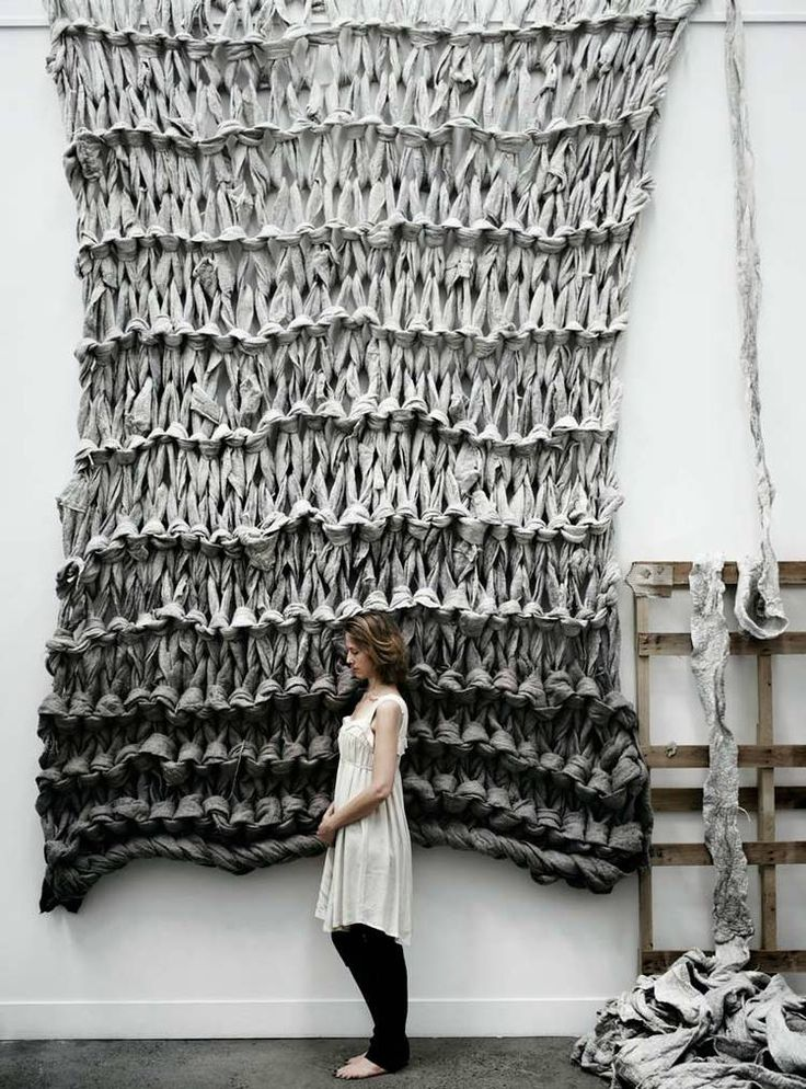 amazing textile wall hanging