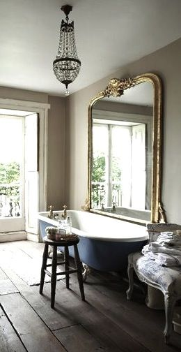bathroom mirror via anna gillar se