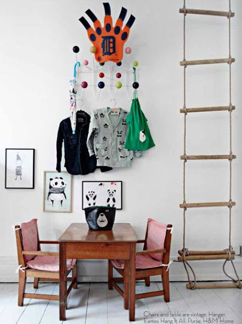 kids room rope ladder