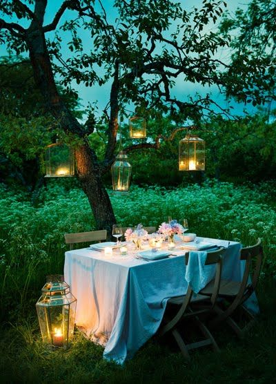 magical table setting
