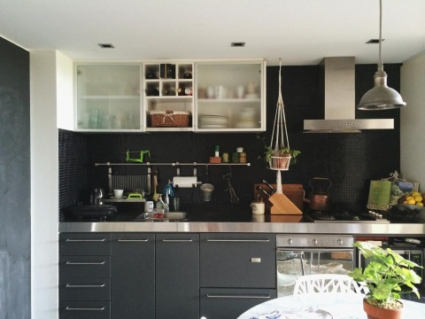 Lara Hotz kitchen before