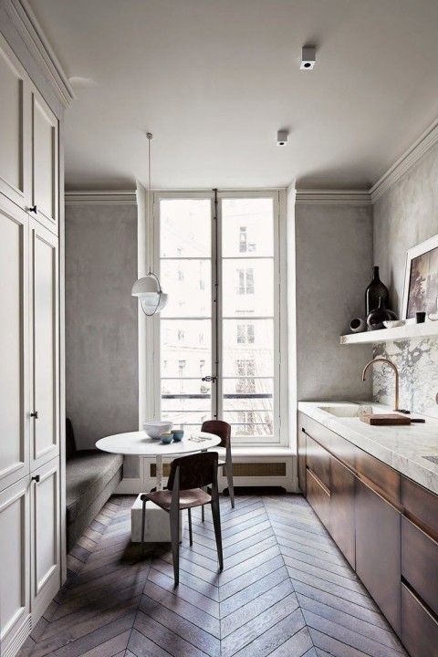 Perfect- French-Kitchen-Joseph-Dirand-via Remodelista- Apartmentdiet
