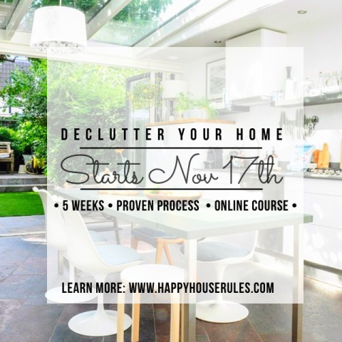 declutter online course happyhouserules com