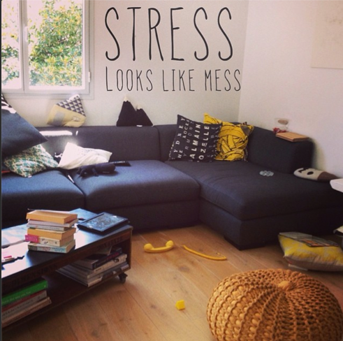 stress looks like mess declutter course apartmentdiet
