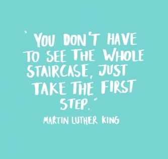 just start martin luther king quote